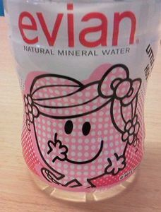 evian LITTLE MISS HUG